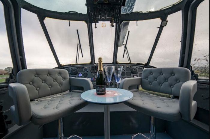 There's A Hotel Room Inside This Helicopter