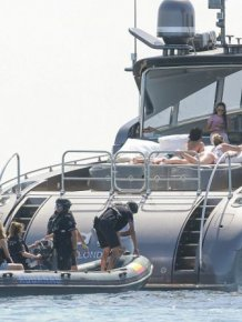 Cristiano Ronaldo's Yacht Boarded By Armed Customs Officers