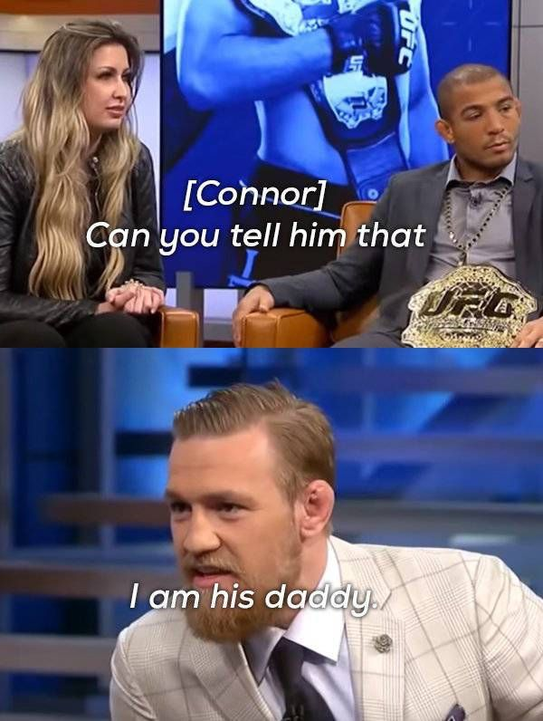 Conor McGregor Knows How To Talk Some Serious Trash