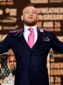 Fan Gets Conor McGregor's Suit Tattooed On His Arm