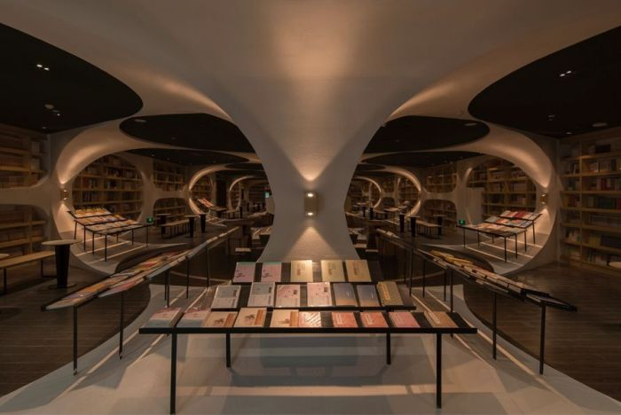 This Store Looks Like An Endless Tunnel Of Books