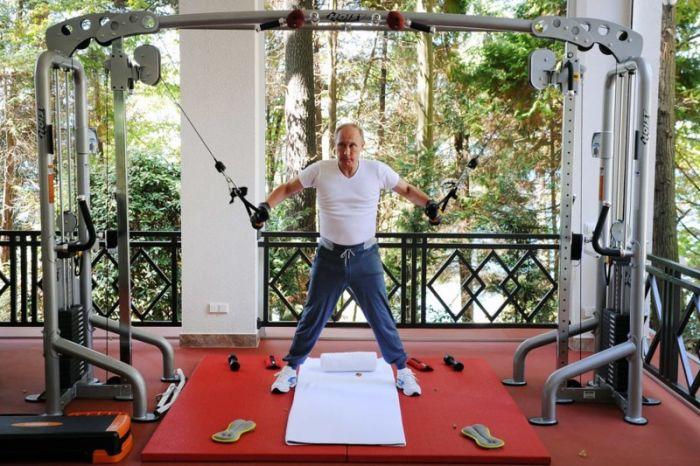 A Look At Vladimir Putin's Crazy Life