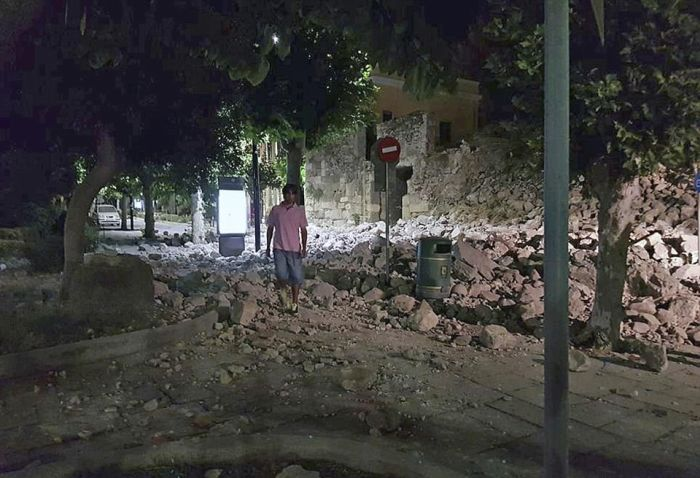 Earthquake Causes Destruction In Turkey