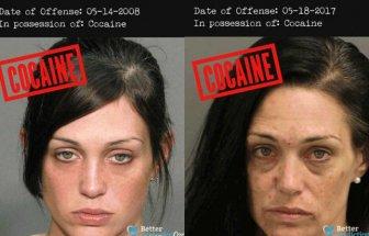 Horrifying Mugshots Show How Hard Drugs Affect The Human Body