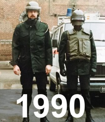 Police Back In The Day And Today