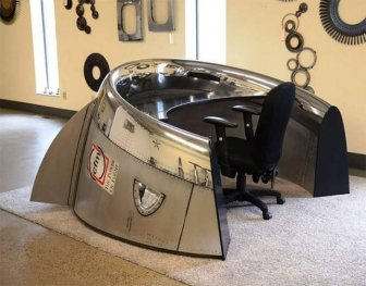 Airplane Parts That Were Transformed Into Cool Furniture