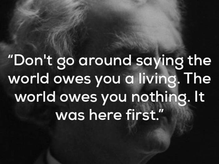 Mark Twain's Wisdom Will Live Through Ages