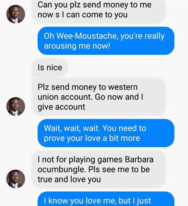 When Scammer Becomes The Prey Instead…