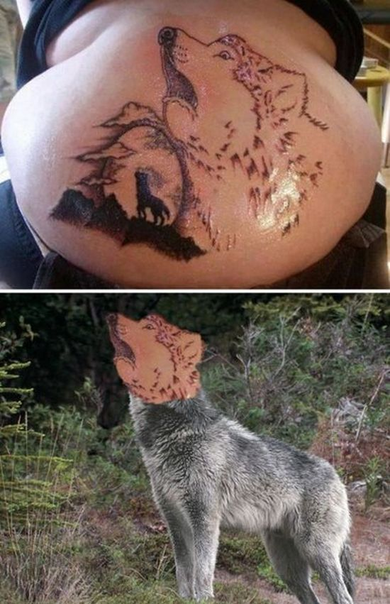 Worst Tattoos with Faces