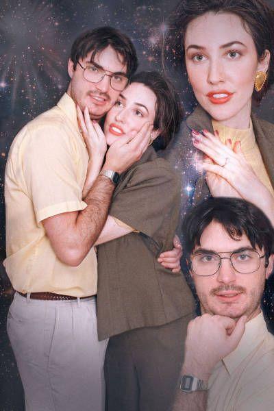 Couple Celebrates Engagement With Hilarious Photoshoot