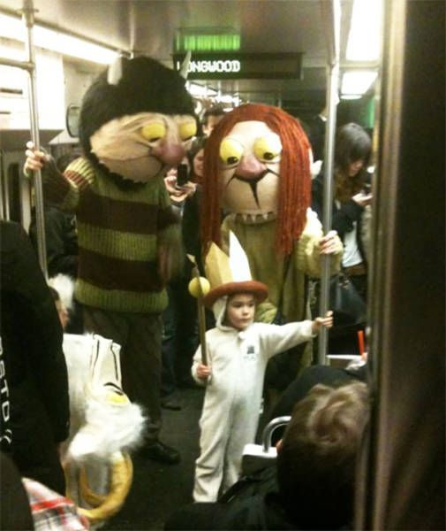 The Subway is Where All The Strange People Meet