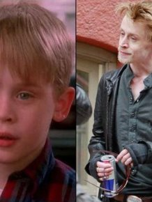 Macaulay Culkin Shows Off His New Look As He Steps Out For Dinner