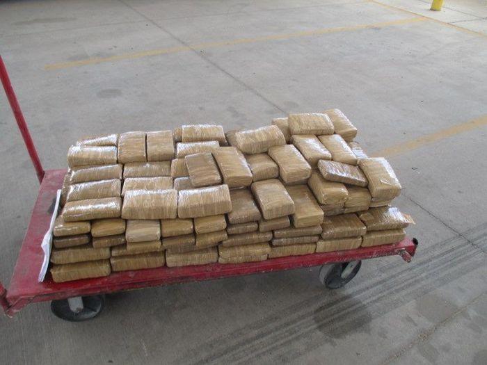 Customs Officers Seize 300 Pounds Of Marijuana