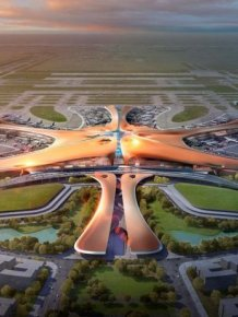 The New Beijing Airport Is Impressive