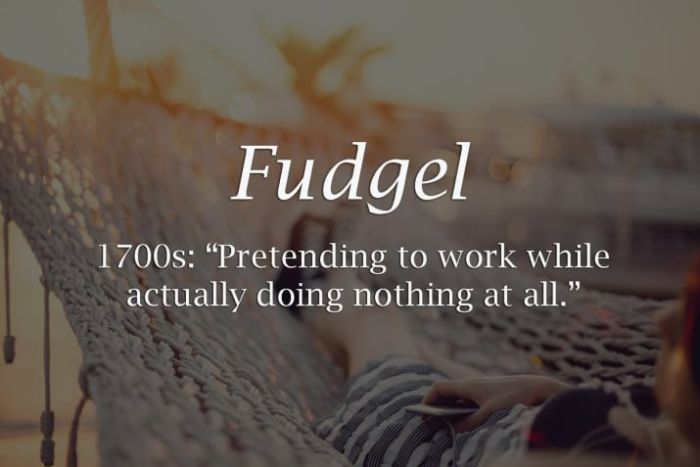 Long Lost Historical Words That You Need In Your Life