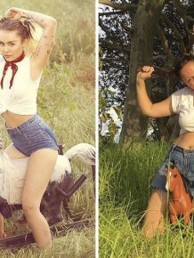 Woman Continues To Recreate Celebrity Instagram Pics And It's Hilarious