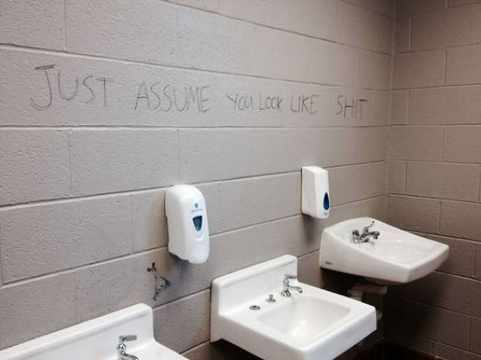 Some Vandals Are Straight Up Geniuses