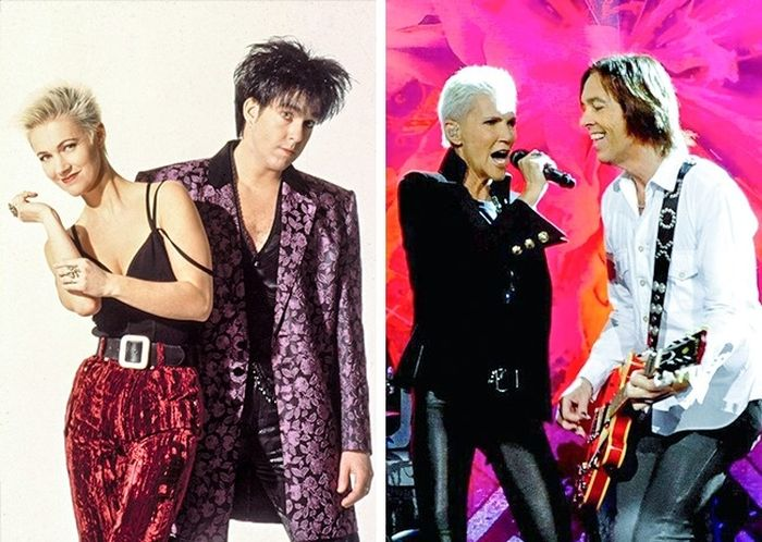 Rock Stars Back In The Day And Today