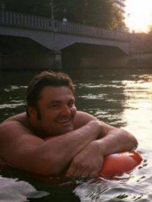 German Man Swims To Work To Avoid Traffic Jams