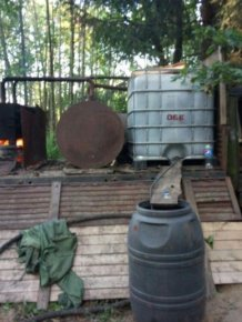Mobile Moonshine Device Found In Russia