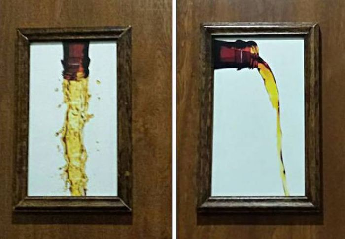 Creative Bathroom Signs That Tell You What's Up