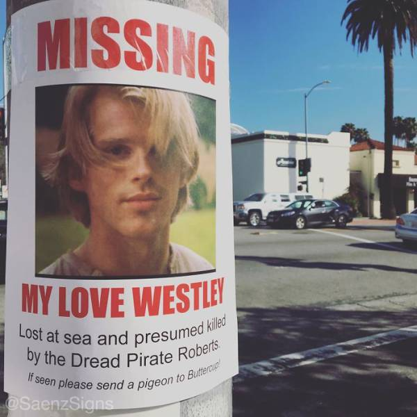Guy Puts Hilarious Fake Posters Up All Over California