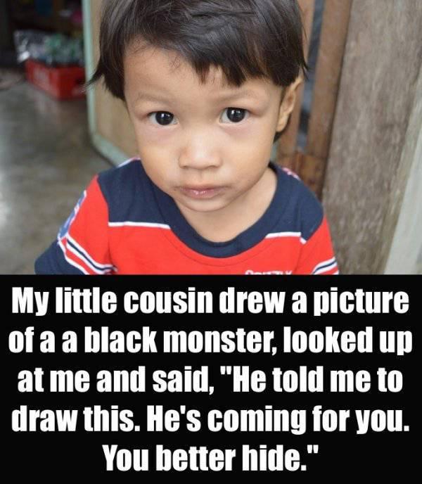 Sometimes Kids Say Terrifying Things