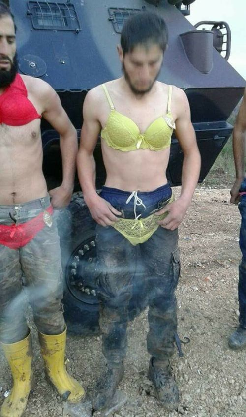 Turkish Military Detains Crossdressing Group Of Syrians