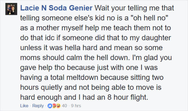 Woman Shows Compassion For Fellow Mother On A Plane
