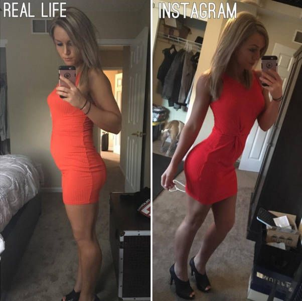 Big Differences Between Instagram And Real Life Bodies