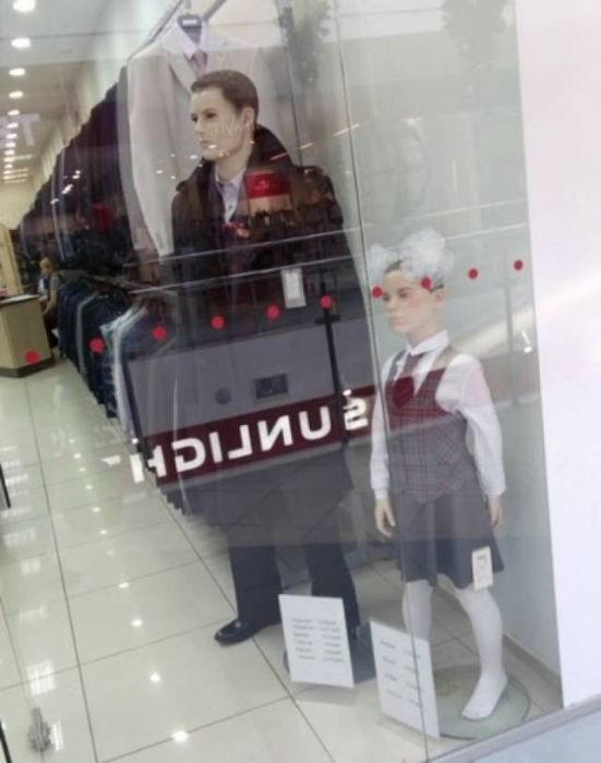 Mannequins Who Have A Life Of Their Own