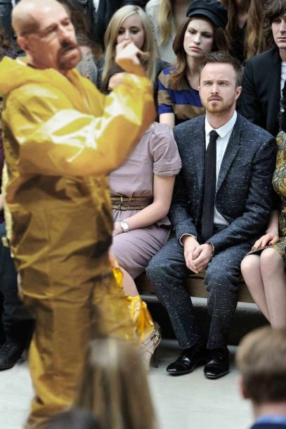 Aaron Paul Clearly Does Not Understand Fashion
