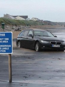 The Insidious Tide Can Swallow Cars Whole