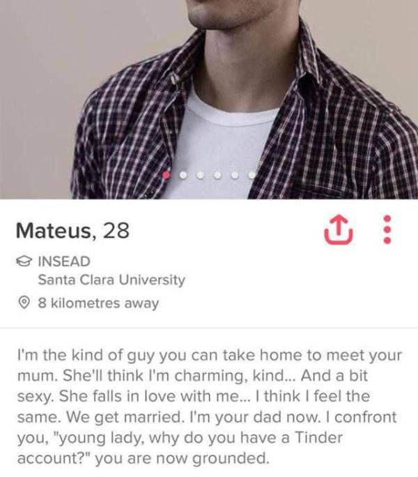 Tinder Profiles That Are Both Confusing And Hilarious