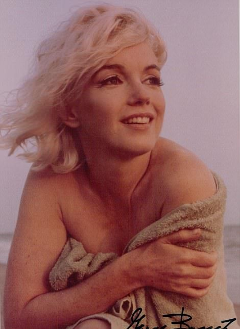 Never Before Seen Pics From Marilyn Monroe's Last Photo Shoot