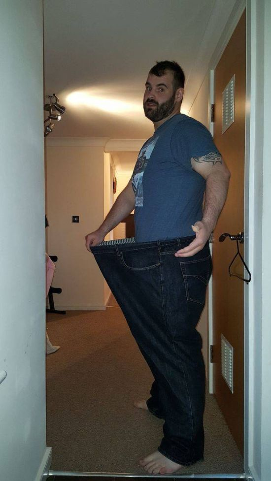 Breakup Inspires Man To Lose Weight And Get In Shape