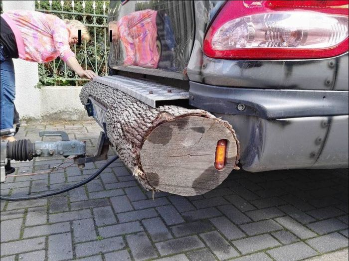 Guy Creates One Of A Kind Custom Bumper