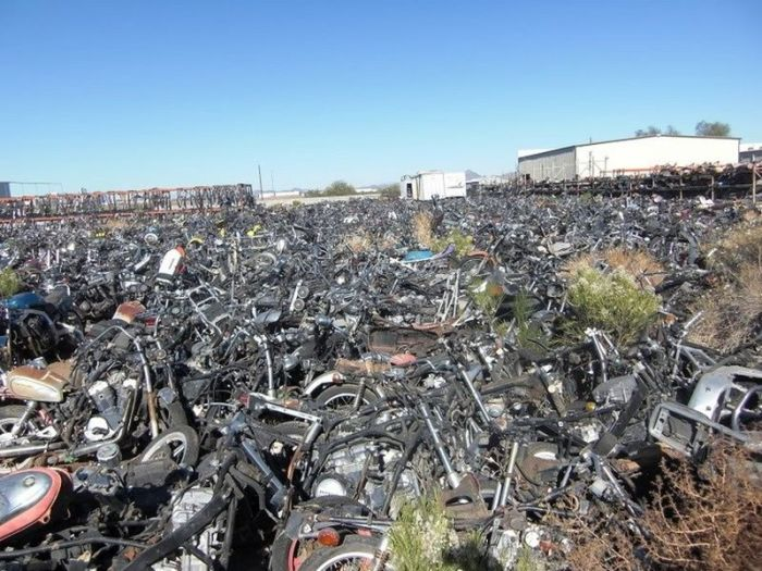Bikes Are Collecting Rust In This Motorcycle Cemetery