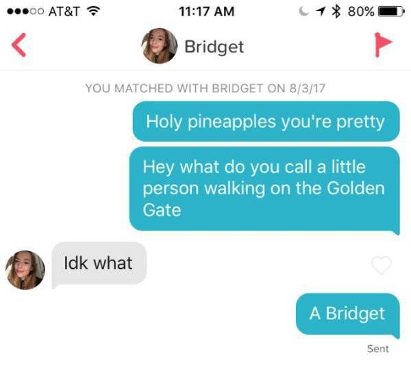 Puns Make Tinder Even Better