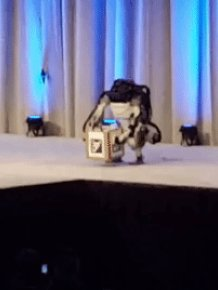 Robot Falls After Demo At Congress Of Future Scientists And Technologists