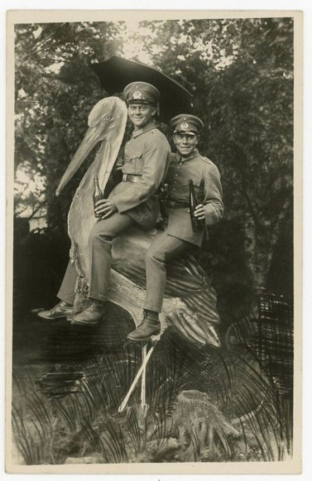 Fun Army Photos Taken Between 1912 And 1945, part 1945
