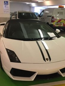 Lamborghini Owner Creates Outrage After Parking In Handicap Space