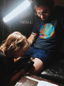 This Kid Is A Better Tattoo Artist Than Most Adults