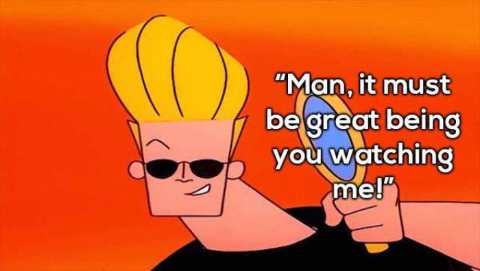Johnny Bravo Has Some Really Awesome Pick Up Lines