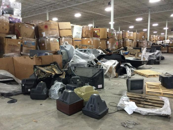 Television Graveyards In America