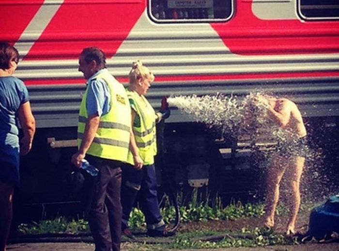There's Never A Dull Moment When You Travel On A Russian Train