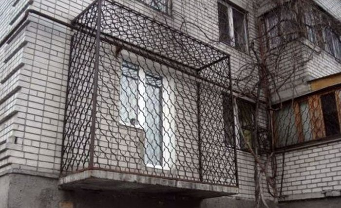 You Can See Some Strange Things On Balconies In Russia
