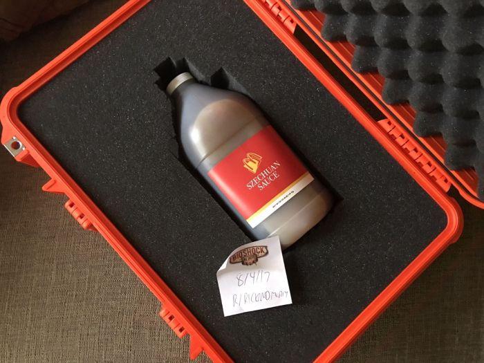 Rare Bottle Of McDonald's Szechuan Sauce Sells For Big Money On Ebay