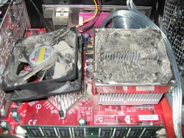 This Might Be The Dustiest Computer Ever