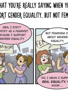 The Differences Between Gender Equality And Extreme Feminism